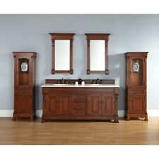 James Martin Brookfield 72' double Cabinet, Warm Cherry - 147-114-5781