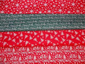 Christmas fabric trees snow greetings merry xmas christmas wishes