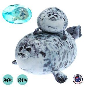 30/60cm Osaka Seal Plush Toy Cuddle Pillow Soft Hugging Cushion Ocean Animal