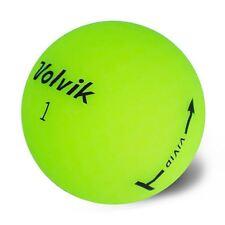 24 Volvik Vivid Matte Assorted Mix Color Used Golf Balls AAA+