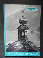 Reisemagazin MERIAN. SALZKAMMERGUT   Heft 5 /1959   12.Jahrgang