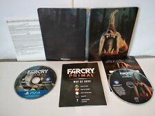 FarCry Primal Edition Steelbook PS4 - PAL US (dezoné) Bon état + CD B.O