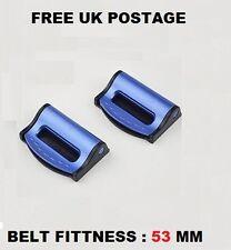 CHRYSLER Blu Sedile Regolabile Cintura di Sicurezza Tappo Clip l'automobile 2 PC