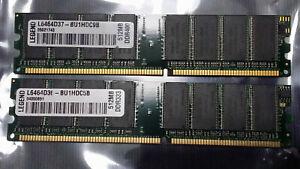 2x Legend 512MB (1GB Total) DDR2 Memory L646D37-BU1HDC9B