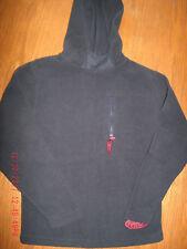 Boys sz S 8 navy blue fleece hoodie EUC Lee Pipes pullover