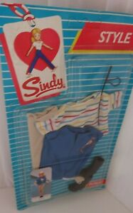 Vintage Pedigree Sindy Boxed Complete 1985 Style Horse Mad Riding Outfit NEW