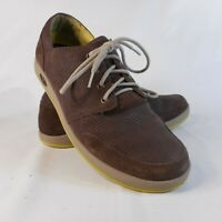 Chaco J103235 Sz 11.5 M Chocolate Brown Leather Casual Sneakers Mens Shoes