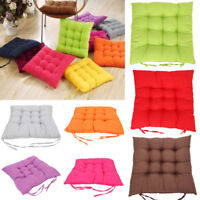 Cushion Indoor Soft Seat Pads Home Dining Kitchen Room Chair Tie On - Square