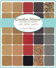 "Garden House Jan Patek Moda Quilt Fabric 2 MINI CHARM PACKS 84 squares 2.5"""