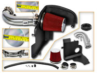 BCP RED 11-14 Ford Mustang GT 5.0 V8 Cold Shield Air Intake Kit + Filter