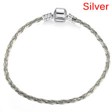 Handmade Bracelet Leather Infinity Bracelet Bangle Wristband Lady Charm LVES