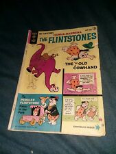 The Flintstones #12 gold key comics 1963 silver age cartoon The Too Old Cow Hand