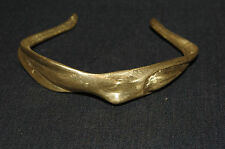 bracelet en bronze cire perdu Afrique Burkina Faso