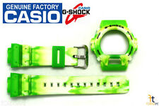CASIO G-Shock DW-6900JC-3V Original Lime Green Camouflage BAND & BEZEL Combo