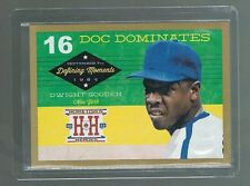 Dwight Gooden #DM7 METS Gold Version Defining Moments 2013 Hometown Heroes