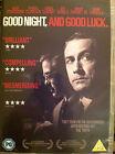 GOOD NIGHT & Good Luck ~ 2005 George Clooney McCarthy Witch Hunt Drama GB DVD