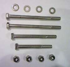 Yamaha FS1E Stainless Engine Bolts and nuts (set of 4)