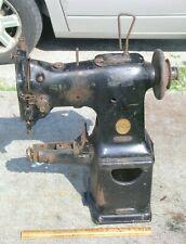Vintage Singer 108w Sv26 Industrial Sewing Machine For Repair