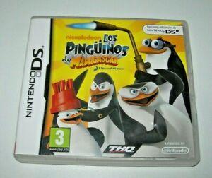 Los Pingüinos de Madagascar - Nintendo DS (PAL España buen estado)