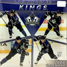 NHL Los Angeles Kings Fan Team Wall Calendar Rare Collectors Item 2008 Season