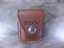Zippo GENUINE LEATHER LIGHTER POUCH - brown - 010470 - NEU