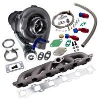 New Turbocharger KIT+TURBO Manifold For Nissan Safari Patrol 4.2L TD42 GQ GU Y60
