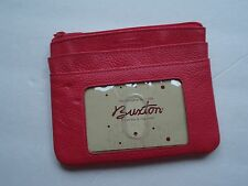 Buxton Double ID Card Case, Hot Pink
