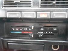 1994 Nissan D21 Navara Heater Controls S/N# V6822 BH6485