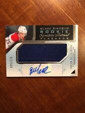 15-16 UD Black Diamond Rookie Signature Materials Placards Jacob De La Rose /125