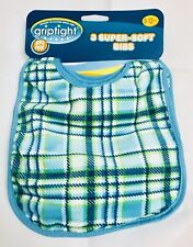 Griptight Super-Soft Pack of 3 Bibs (New) Pack of 3