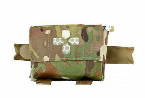 Blue Force Gear Belt Mounted Micro Trauma Kit Now! w/No Contents Multicam