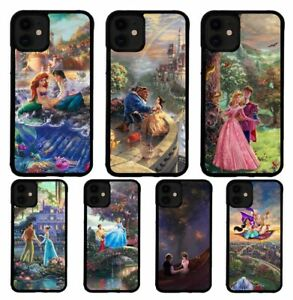 Disney Cartoon Princess Story Case For iPhone 7 8 Plus XR XS 11 Pro Max Cover