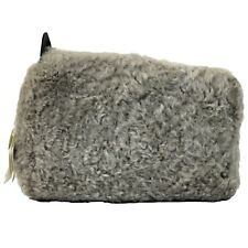 NWT $2245 Brunello Cucinelli Women's Gray 100% FU Bag