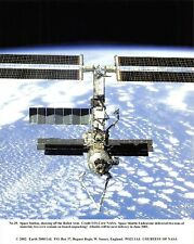 NASA Photographic Card Print of International Space Station ISS & Robot Arm