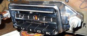 61? 62 Buick Wonderbar Radio for LeSabre Invicta Electra Serviced Lks &  Wks GR8