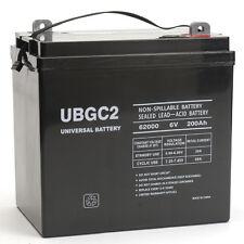 Universal Power Group UBGC2 Sealed AGM Deep Cycle 6V 200AH Battery Golf Cart RV