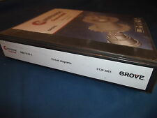 GROVE MANITOWOC GMK 5130-2 CRANE CIRCUIT DIAGRAMS SCHEMATICS CATALOG MANUAL
