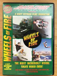 Wheels of Fire - Santa Cruz Skateboards - Skateboard DVD