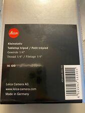 """Leica Ball Head (14110)  and Lieca Tabletop Tripod 1/4"""" Thread (14100)"""