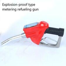Fueling Nozzle Digital Fuel Oil Diesel Gasoline Nozzle Gun With Flow Meter