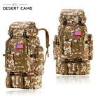 Outdoor Hiking Camping Waterproof 80L Large Travel Luggage Rucksack Backpack Bag