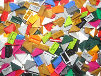 Lego ® Lot x2 Briques Toit Penchée Slope Brick 45° 1x2 Choose Color 3048 / 15571