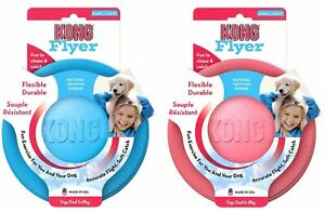 KONG PUPPY FLYER SMALL - CHOICE OF COLOURS BRAND NEW ONLY £8.99 FREE POST.