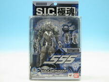 [FROM JAPAN]S.I.C. Kiwami Damashii Kamen Rider 555 Wolf Orphnoch Action Figu...