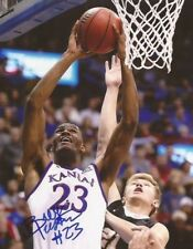 Billy Preston signed Kansas Jayhawks 8x10 photo 2018 NBA Draft 5