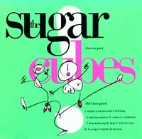 THE SUGARCUBES - LIFE'S TOO GOOD (NEON GREEN LTD.LP)  VINYL LP NEW+