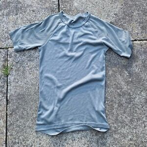 DUTCH ARMY G1 ECW GREY THERMAL SHORT SLEEVE TOP COLD WEATHER BASE LAYER T-SHIRT
