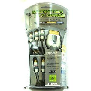 Monster Cable Gamelink Component Video & Stereo Audio Kit for Xbox 360 - 10 Ft