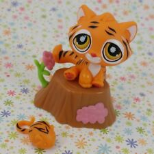 New listing Littlest Pet Shop #905 orange Tiger tabby cat Postcard Pets toy mouse accessory