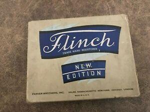 ANTIQUE Vintage Flinch Card Game Parker Brothers